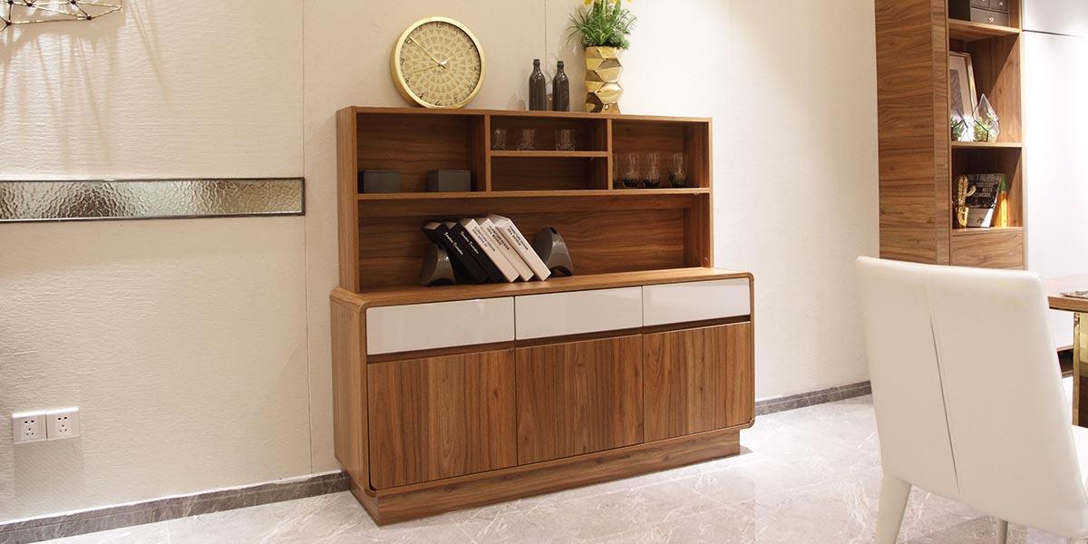 Contemporary Small Wood Grain Sideboard CG0521602