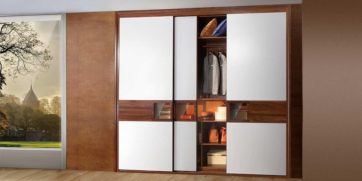 I Shape Melamine Modern Wardrobe PLYT19004-047