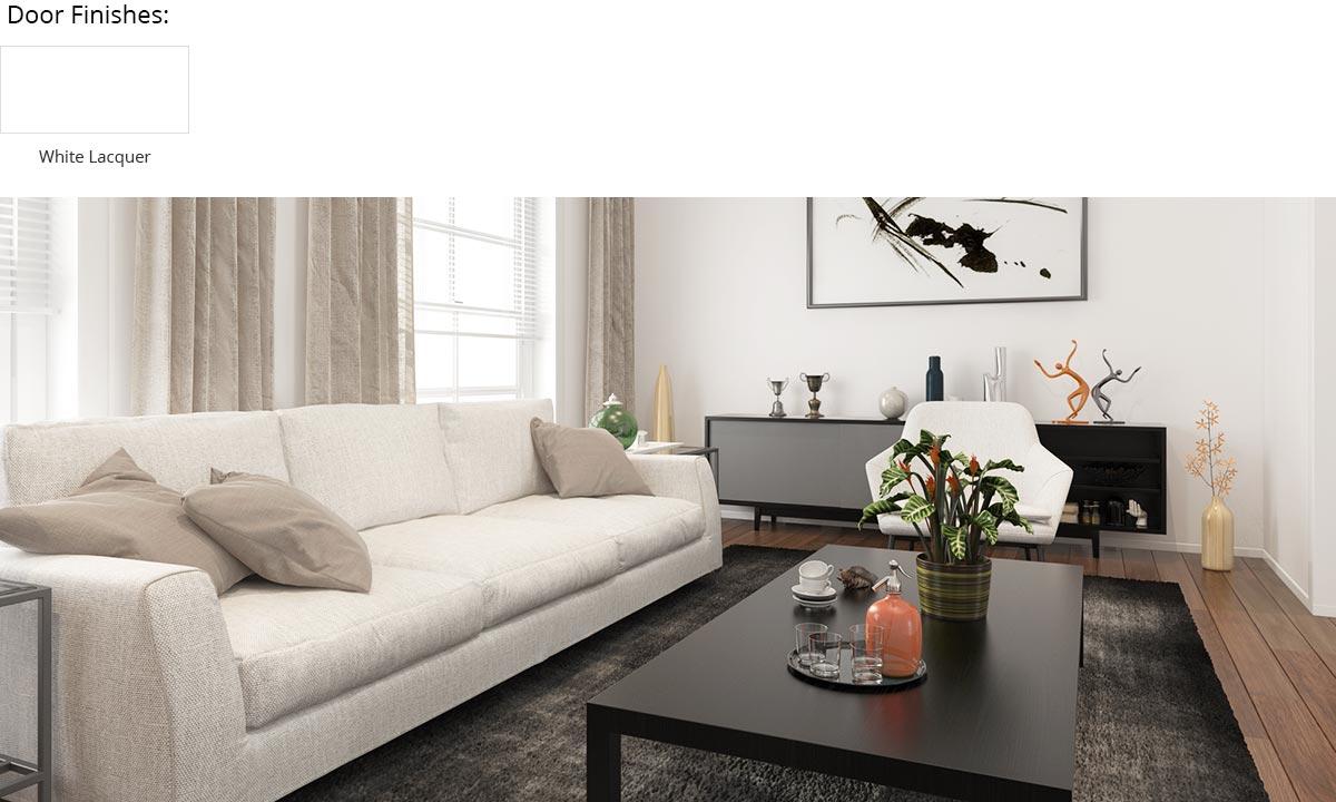 Modern Enjoyable White Villa Home Furniture OP16-Villa01