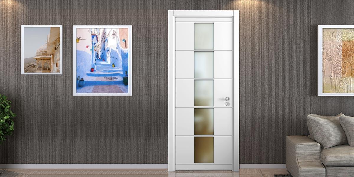 Modern Matte Lacquer Interior Flat Door YDG016D