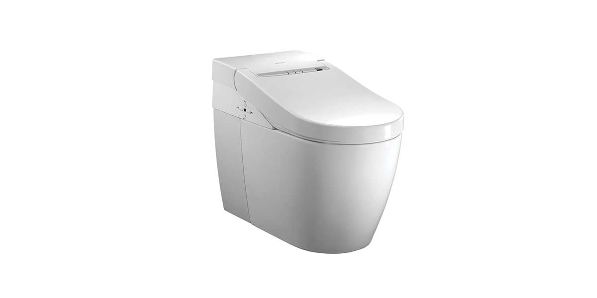 OP-W7039R: Two Channel Pipe Strong Water-saving Smart Toilet