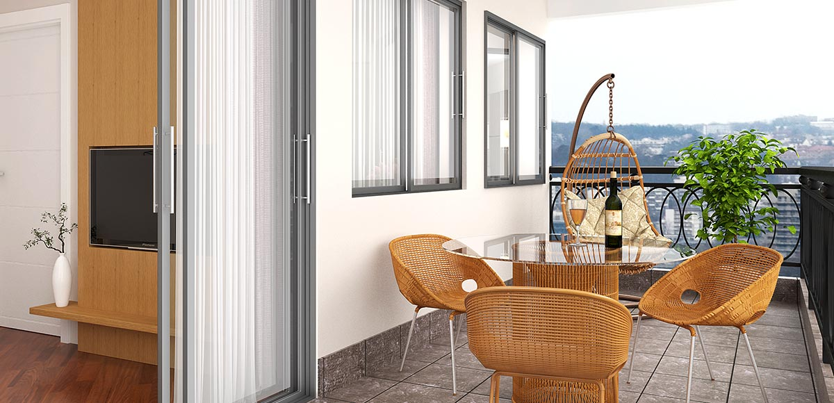 OP16-HOTEL02: Modern White and Wood Grain PVC Hotel Suites Design