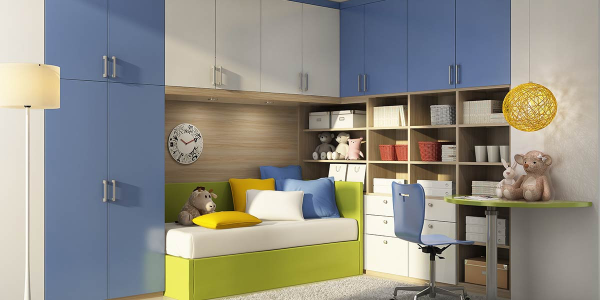 OP16-KID03: Clean and Romantic Bedroom for 5 Years Old Girl