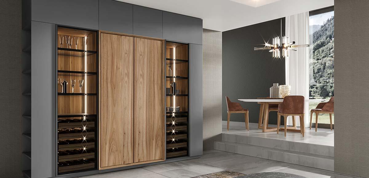 OP19-HS04 Natural Wood Grain Whole House Design