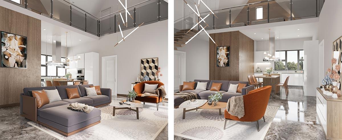 OP20-HS01 Simple Modern House Home Furniture
