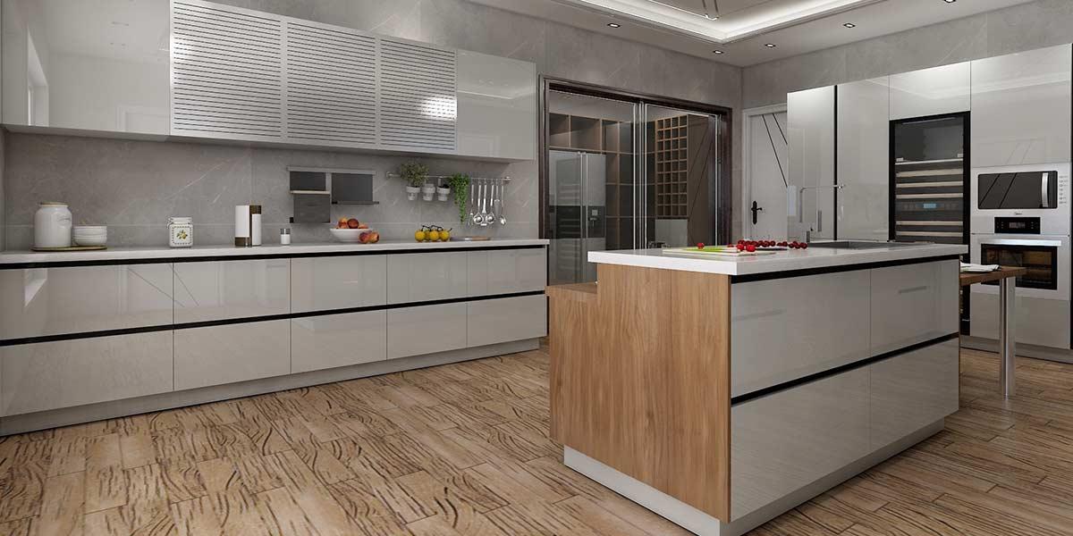 Popular Kitchen Design With Storage Cast OP20-M01