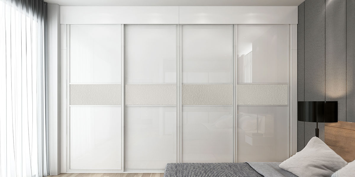 4 Panels Sliding Door Wardrobe YG18-L01