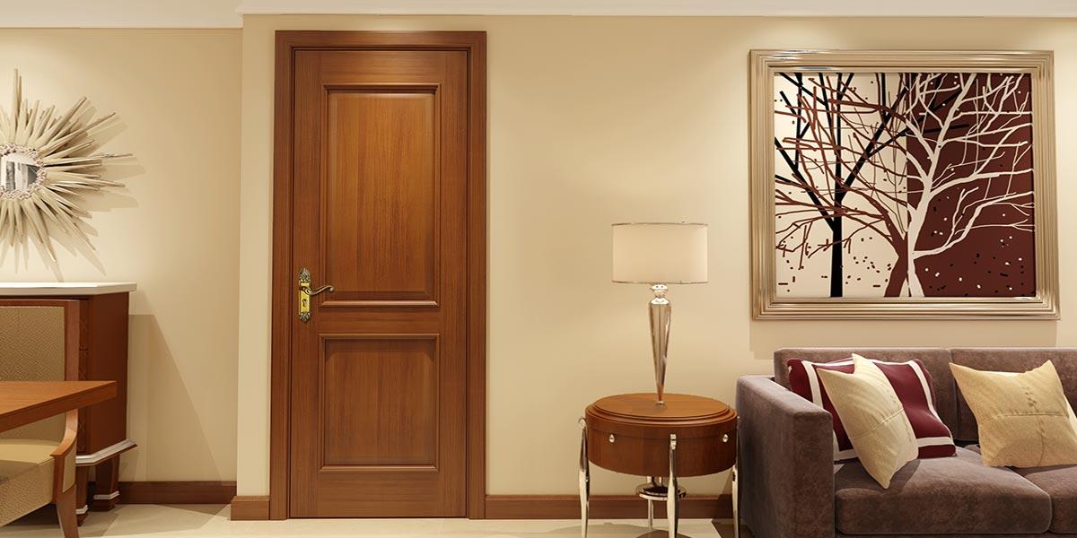 Luxurious Series Black Walnut Interior Door YDA017D