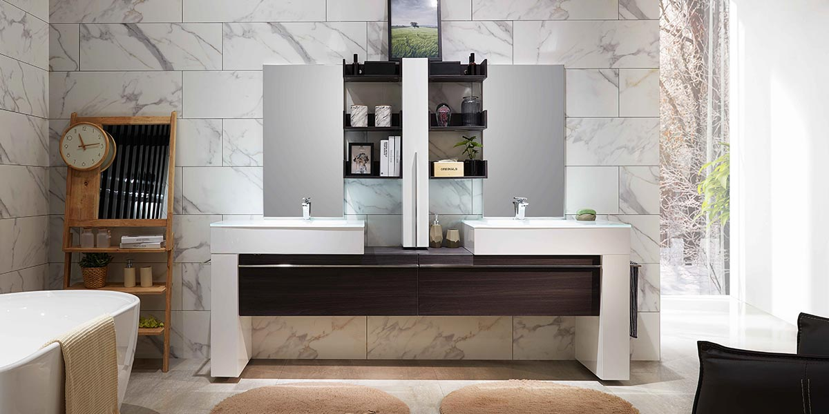Unique Design Bathroom Cabinet OP17-106