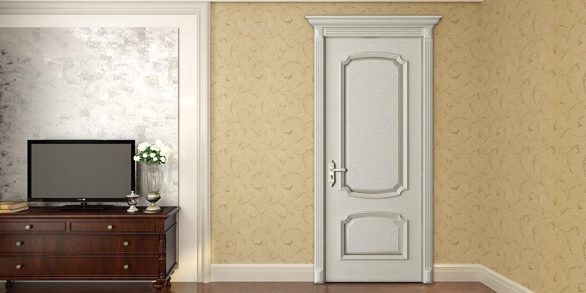 Wood Veneer Interior Raised Door YDD013D