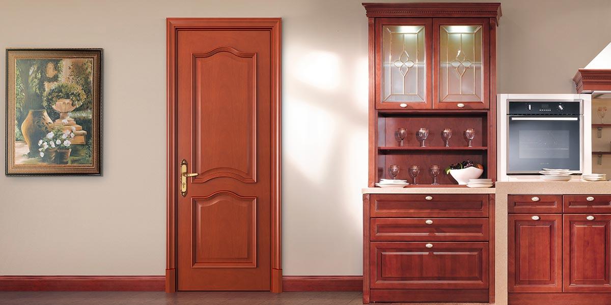 Luxurious Series Solid Mahogany Door YDA015D