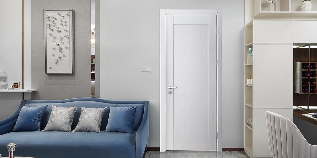 Wood Veneer Interior Flat Door YDF007D