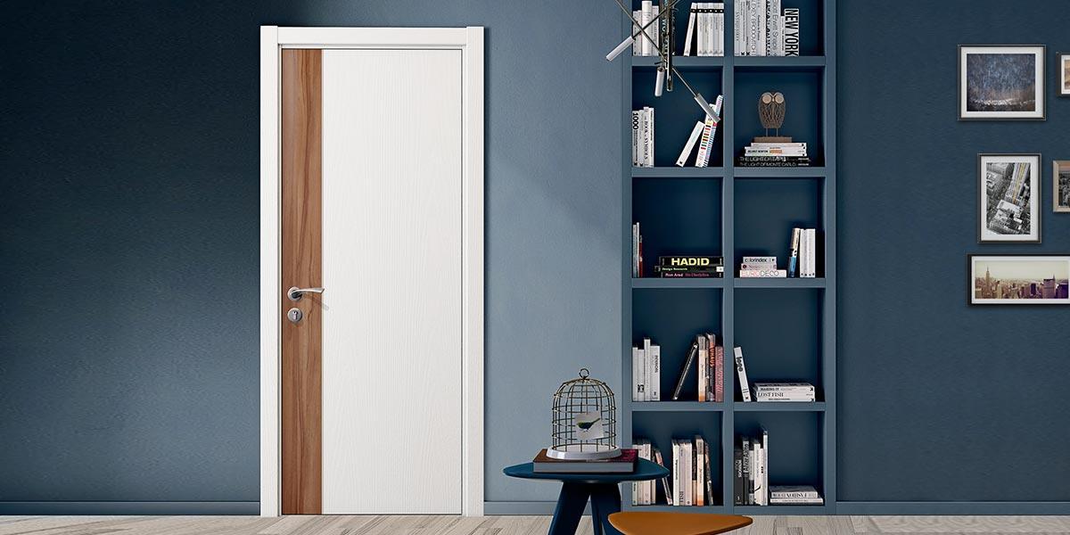 Fashion Series White Melamine Interior Door YDG002D