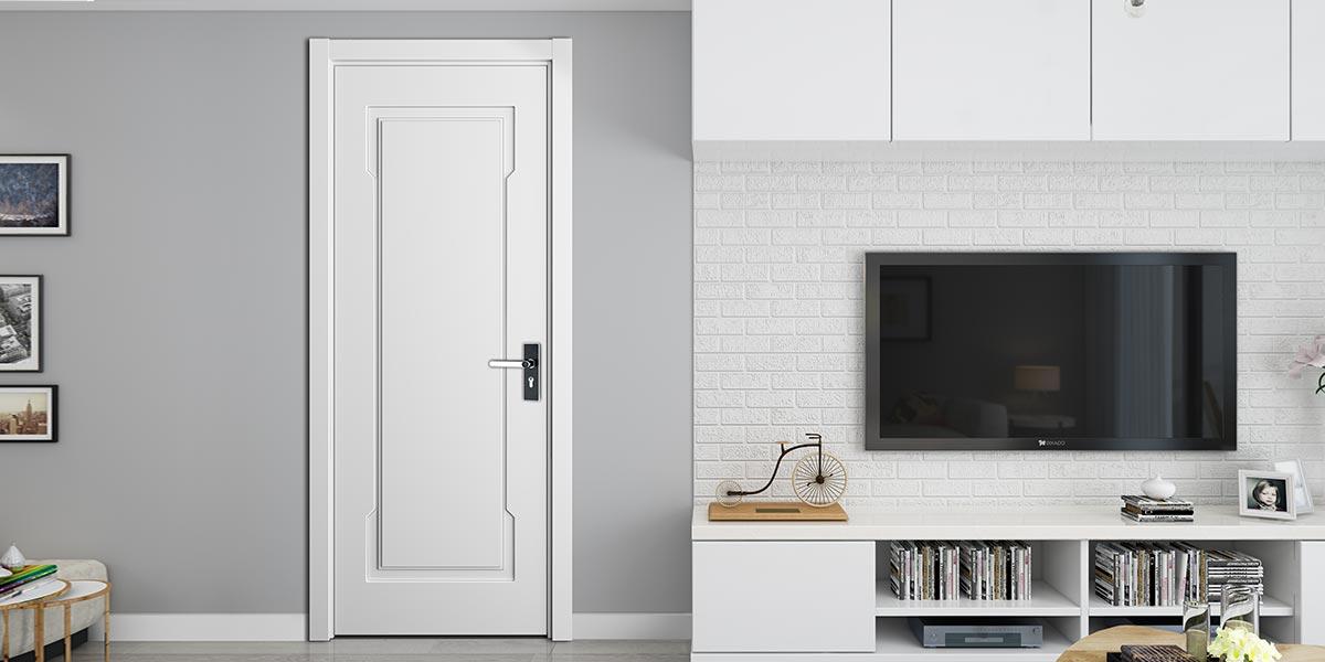 Modern Matte Lacquer Interior Glass Door YDG011D