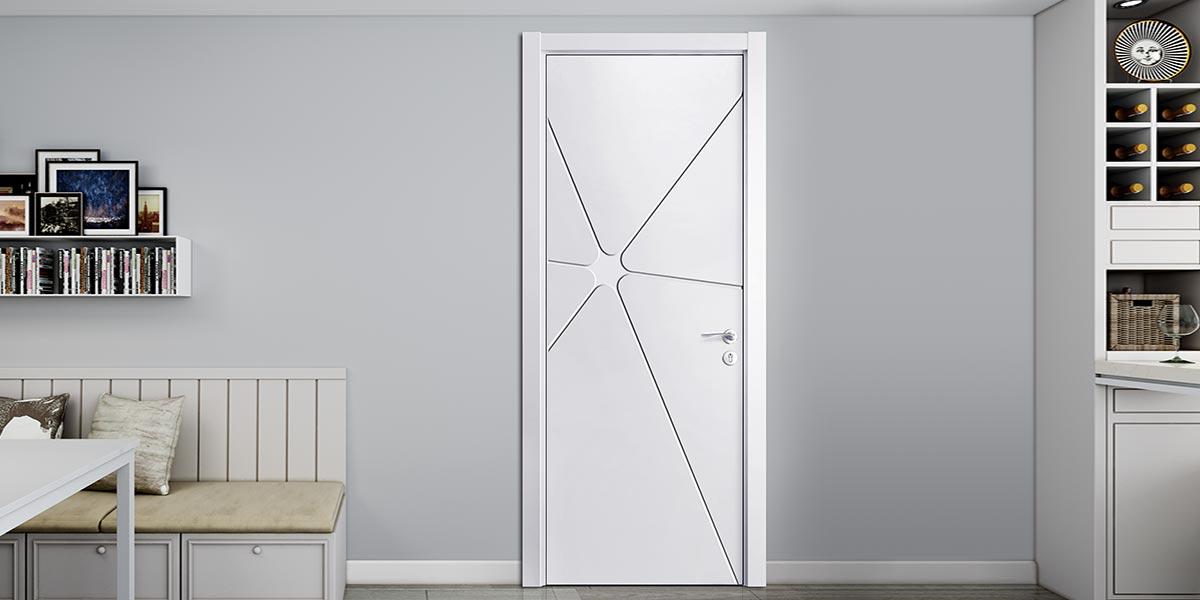 Modern Matte Lacquer Interior Flat Door YDG018D