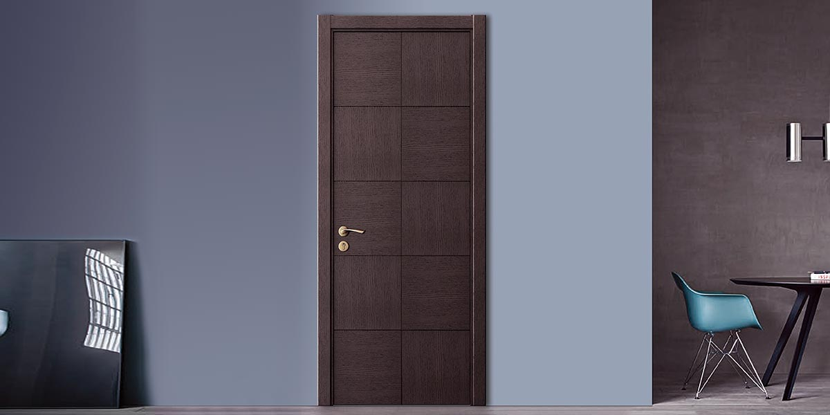 Fashion Series Oak Veneer Sheet Hinged Door YDG028D