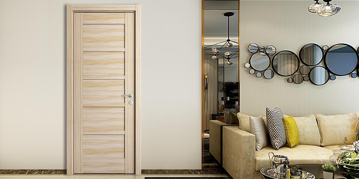 Modern Melamine Interior Swing Door YDK001D